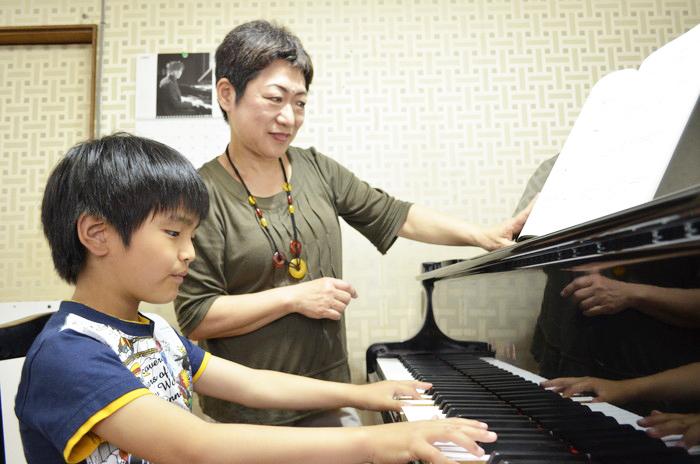 マンツーマンのピアノレッスン